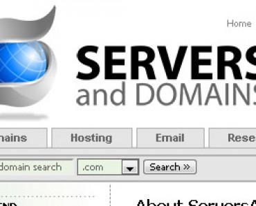 serversanddomains