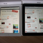 iPad and iPad 3 with Safari