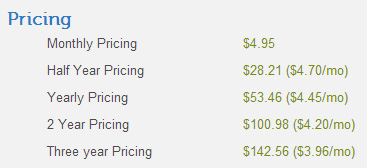 interserver new pricing