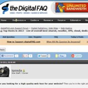 Ixwebhosting.com: Digitalfaq.com (your affiliate) is trashing your company