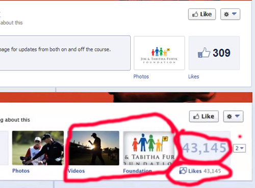 Jim Furky fake and real facebook page