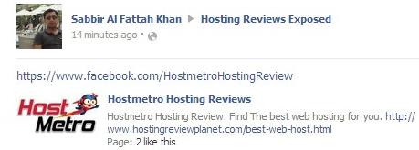 hostmetro spam